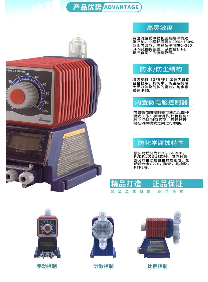 EH-E系列产品优势